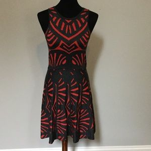 Parker fit and flare dress